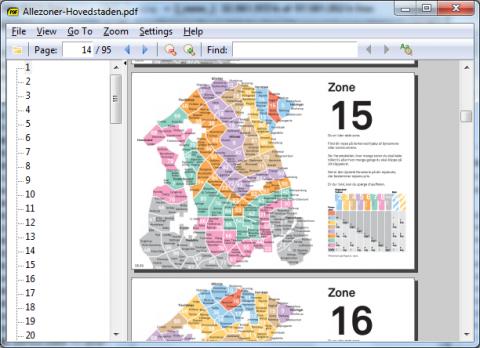 Sumatra-PDF: schlichte Oberfläche und häufig sehr schnelle Anzeige