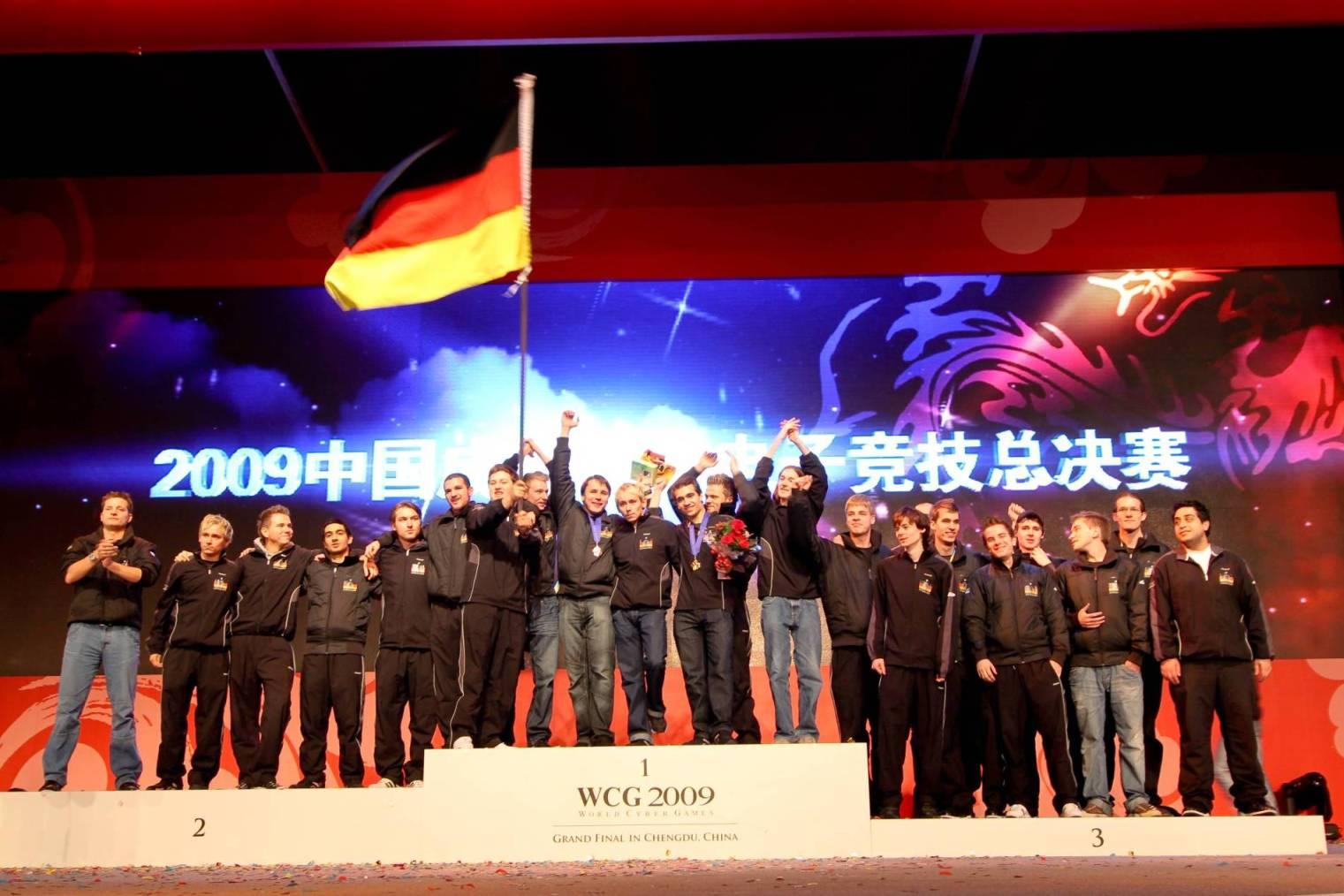 World Cyber Games: Deutschland holt drei Medaillen - Das deutsche E-Sport-Team im chinesischen Chengdu