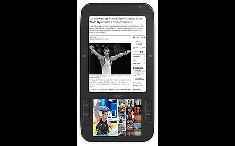 Verblüffend ähnlich: Die E-Book-Reader Alex von Spring Design... (Foto: Spring Design)