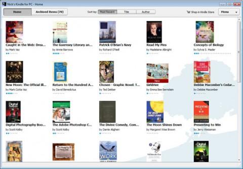 Kindle for PC - E-Book-Lesesoftware von Amazon.com