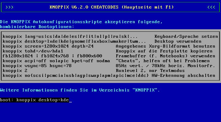 Knoppix 6.2 erschienen -