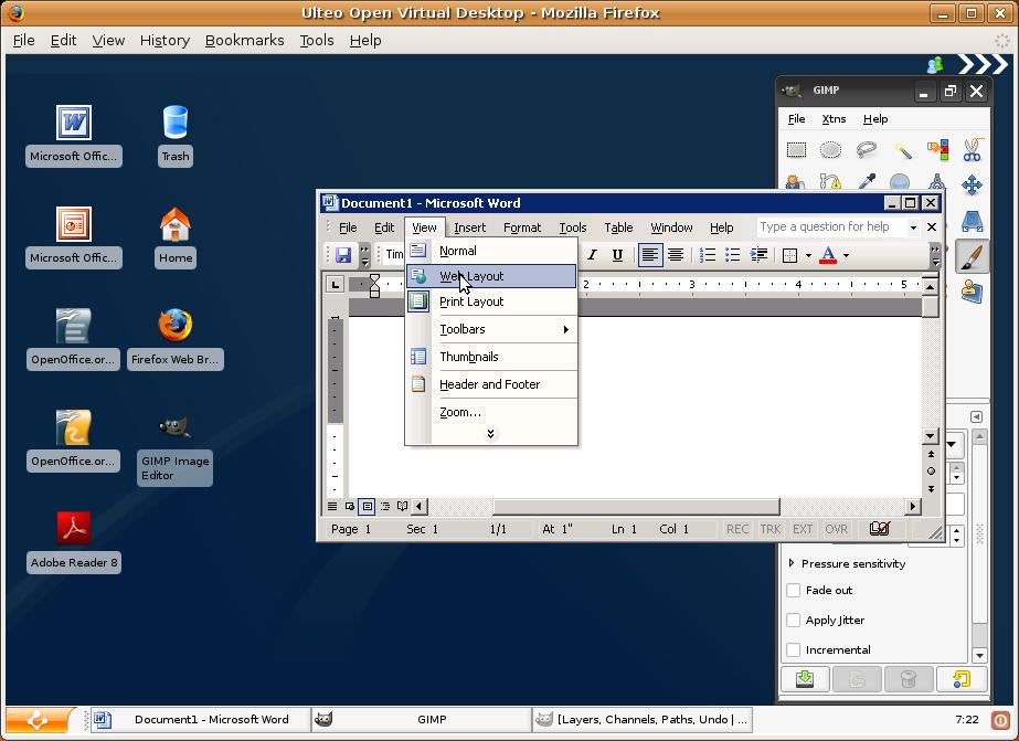 Ulteos Open Virtual Desktop 2.0 erschienen - Virtueller Desktop mit Windows- und Linux-Programmen