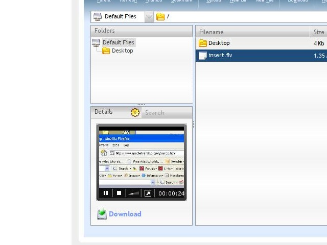 Ulteos Open Virtual Desktop 2.0 erschienen - Der integrierte Media Player spielt MP3- und FLV-Dateien ab