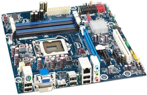 Das Micro-ATX-Board DH55TC