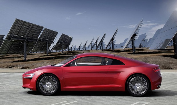Der E-Tron von Audi (Foto: Audi)