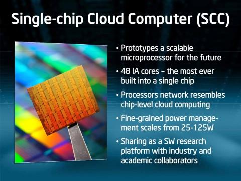 Intels Singlechip-Cloud-Computer - 48 x86-Kerne auf einem Chip