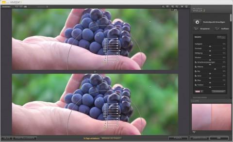 Nik Software Viveza 2 - Farbstichentfernung an der Hand (Foto: Andreas Donath)