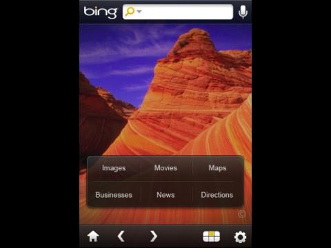 Bing auf dem iPhone