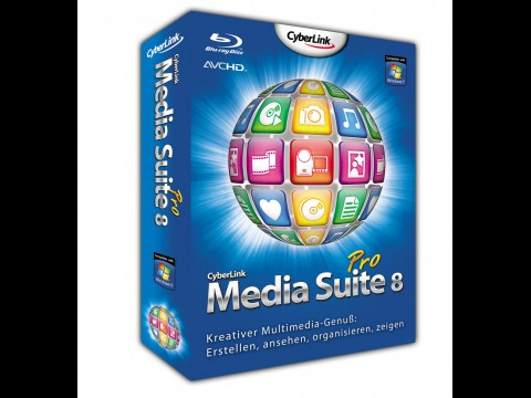 Cyberlink Media Suite 8 Pro