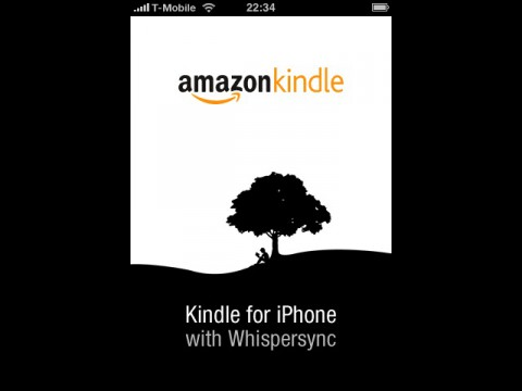 Kindle for iPhone 1.3 - Startbildschirm