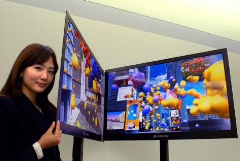 Extreme-Slim-LCD-TV-Panel von LG Display