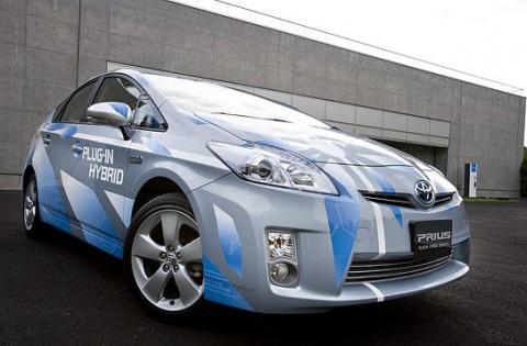 Toyota Prius als Plug-in-Hybrid (Foto: Toyota)