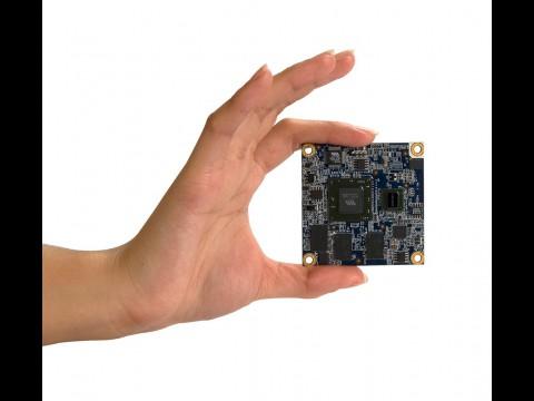 Mobile-ITX - CPU-Modul misst 6 x 6 cm