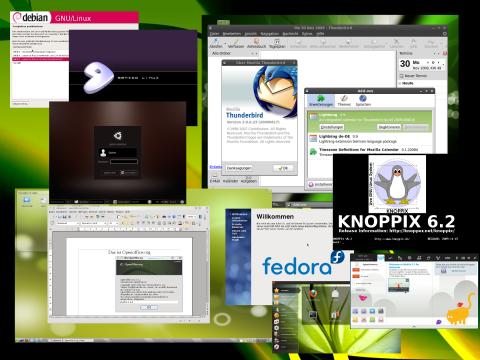 Die Artenvielfalt im Linux-Dschungel