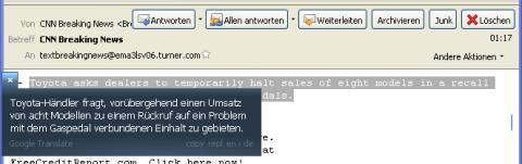 Client für Google Translate - Webseitenübersetzung