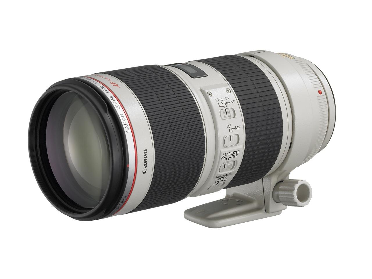 Canon stellt neues Objektiv mit 70-200 mm und 1:2,8 vor - Canon EF 70-200mm 1:2,8L IS II USM