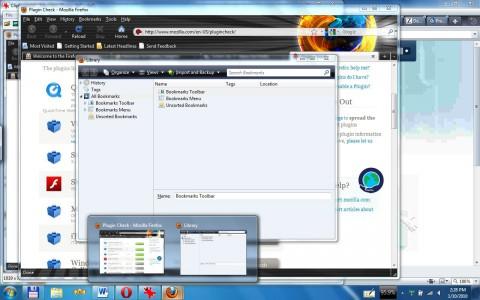 Die Tabvorschau unter Windows 7 ist verschwunden ...
