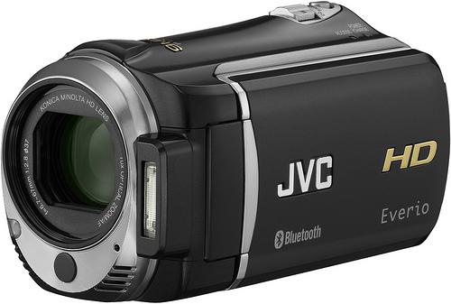 JVC stellt Camcorder mit Bluetooth vor - JVC GZ-HM550