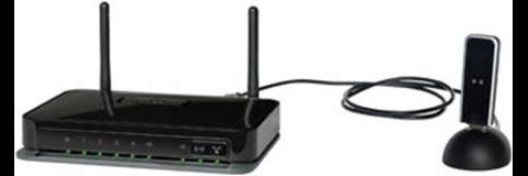 MBRN3000 mit USB-Dock. Der DGN2200M sieht ähnlich aus, es fehlt dem Router aber das USB-Dock.