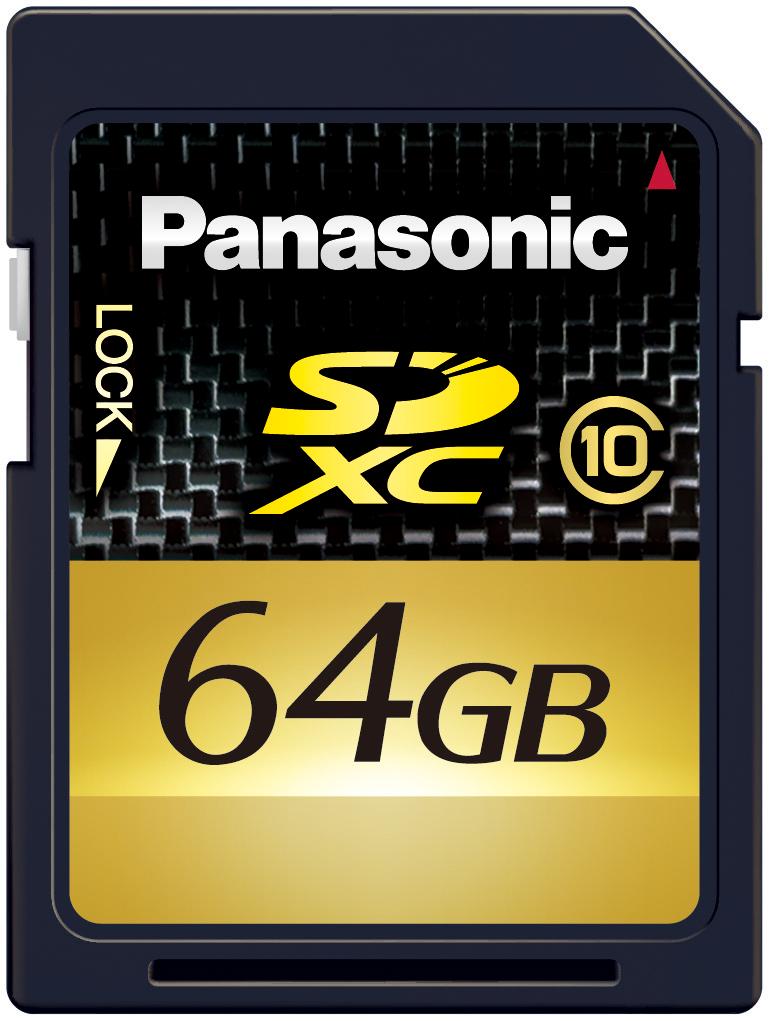 Panasonic: SDXC mit 64 GByte ab Februar 2010 - RP-SDW64G - SDXC-Karte mit 64 GByte von Panasonic