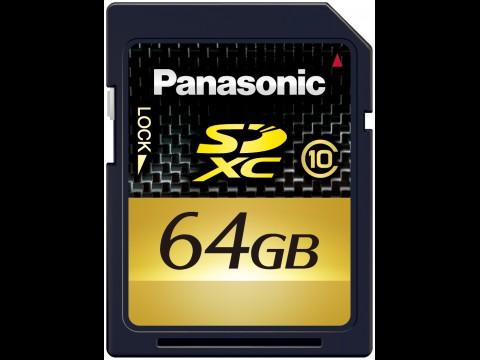 RP-SDW64G - SDXC-Karte mit 64 GByte von Panasonic