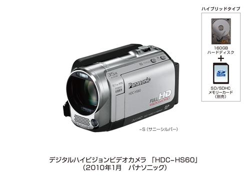 SDXC-Camcorder von Panasonic  - Panasonic HDC-HS60