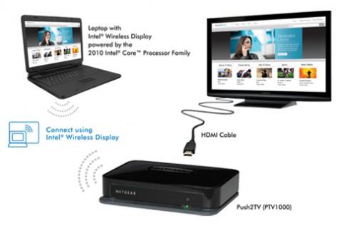 intel wireless display verbindet notebook und tv per wlan. Black Bedroom Furniture Sets. Home Design Ideas