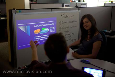 ShowWX - Laserprojektor von Microvision