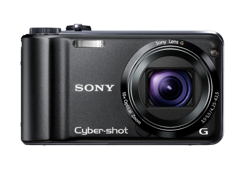 Sony-Kompaktkamera mit GPS, Kompass und Panoramafunktion - Cybershot DSC-HX5V