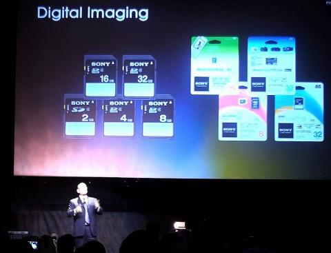 Sony kündigt SD-Karten an