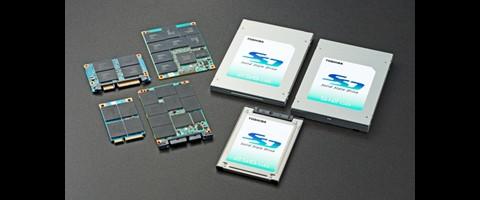Toshiba SSDs mit 32-Nanometer-Chips