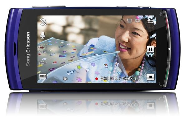 Vivaz - Smartphone von Sony Ericsson filmt in HD - Vivaz von Sony Ericsson