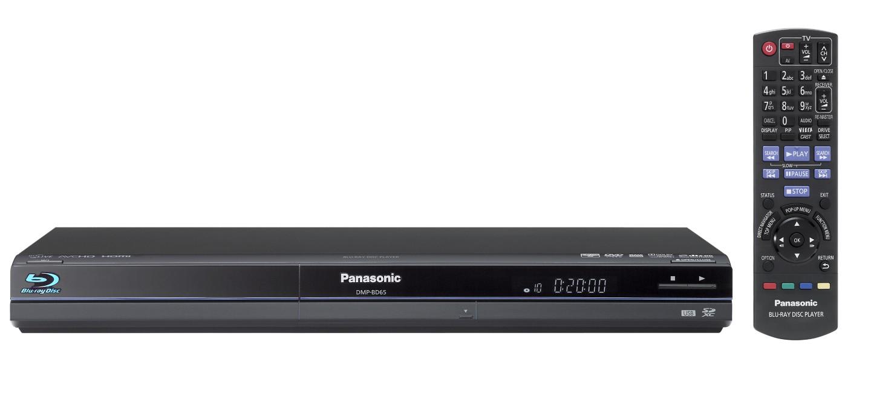 Panasonic bringt Blu-ray-Rekorder für Deutschland - Panasonic DMP-BD65 - Blu-ray-Player in Schwarz