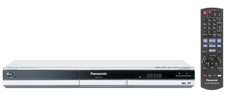 Panasonic bringt Blu-ray-Rekorder für Deutschland - Panasonic DMP-BD65 - Blu-ray-Player in Silber