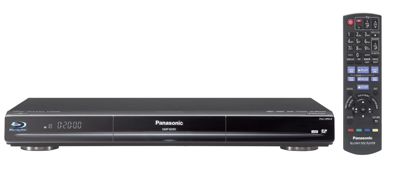 Panasonic bringt Blu-ray-Rekorder für Deutschland - Panasonic DMP-BD85 - Blu-ray-Player