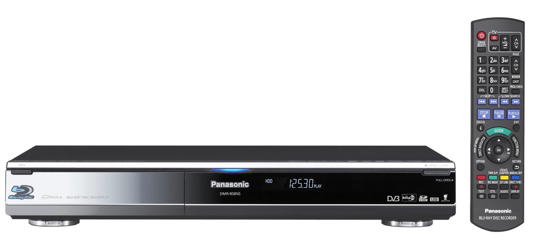 Panasonic bringt Blu-ray-Rekorder für Deutschland -