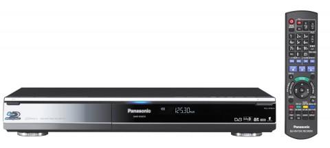 Panasonic DMR-BS850 - Blu-ray-Festplattenrekorder (Front) für Sat-TV