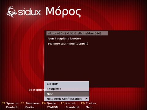 Auf den Live-CDs und -DVDs startet jetzt der Isolinux-Bootloader samt neuer Netzwerkunterstützung.