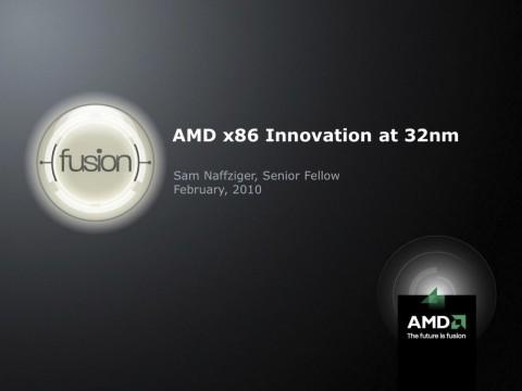 AMDs Fusion-Präsentation von der ISSCC