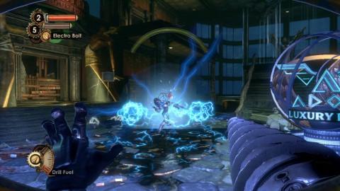 Wasser leitet Strom - eine tödliche Falle für Gegner.