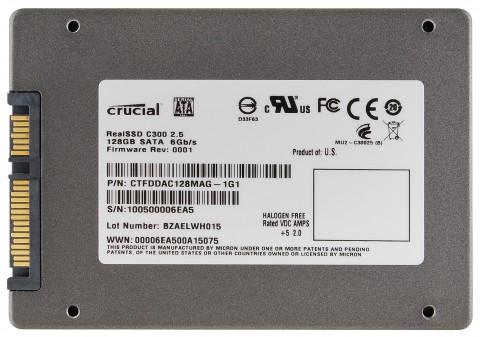 128-GByte-Modell der C300-SSD