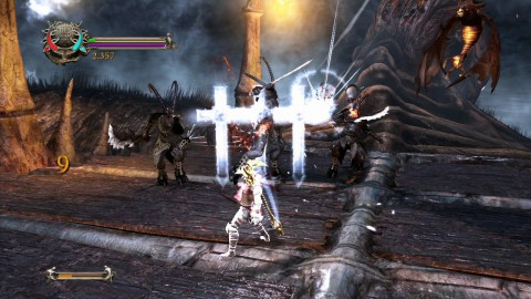 Dante kämpft mit heiligen und unheiligen Mitteln.