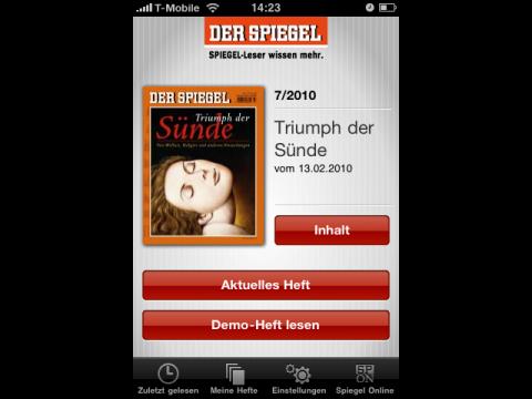 Der Spiegel - Startseite