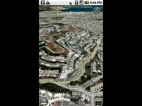 Google Earth für Android