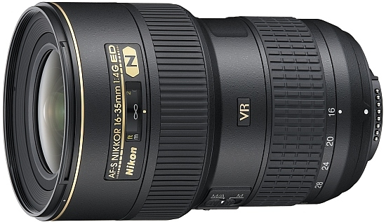 Nikon: 24-mm-Festbrennweite und VR-Weitwinkelzoom - Nikon AF-S Nikkor 16-35mm 1:4G ED VR