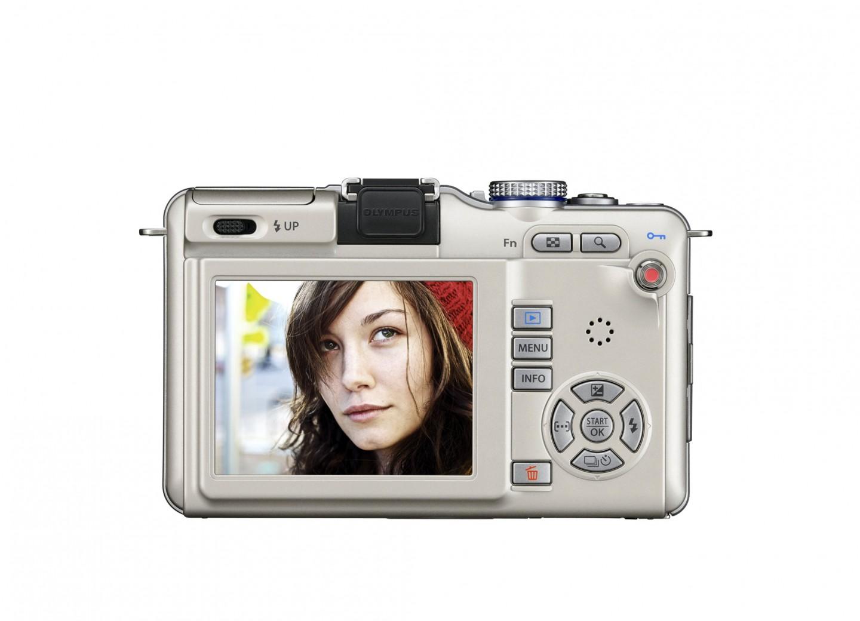Olympus-Kompaktkamera Pen mit integriertem Blitz - Olympus Pen E-PL1