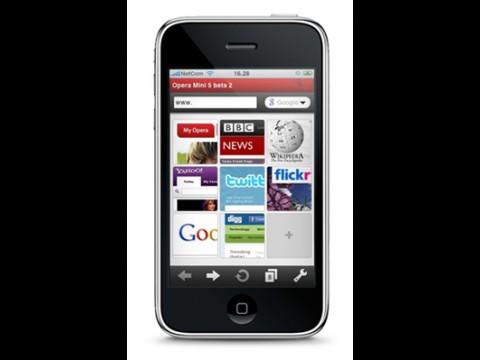 Opera Mini für das iPhone