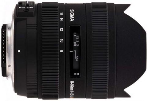 Sigma 8-16mm f4-5.6 DC HSM