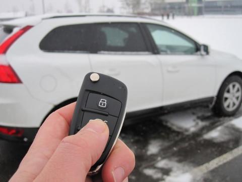 In diesem Autoschlüssel soll ein asymmetrischer Algorithmus für mehr Sicherheit beim Öffnen der Fahrzeugtür per Funk bitten (Foto: Fraunhofer SIT)