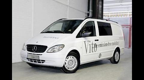 Daimlers elektrischer Vito... (Foto: Daimler)